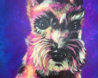 Personalized Pet Portrait, 11x14
