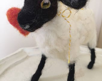 Needle Felted Mother Sheep