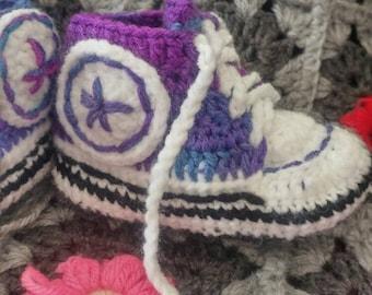 "Pantoufles style ""Basket"" / Slippers ""Basket"" style"