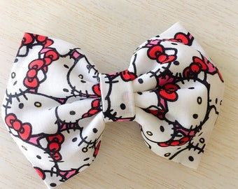 Hello Kitty fabric Bow