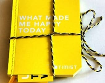 A6 Yellow Notebooks, package of 3