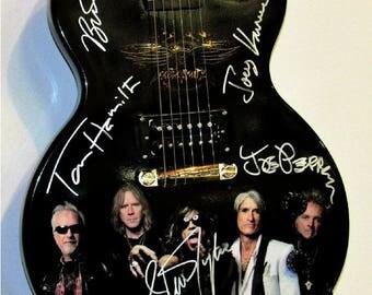 Aerosmith Autographed Guitar