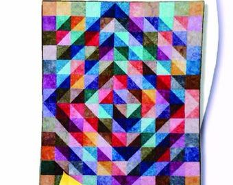 Batik-Go-Round PDF  Quilt Pattern