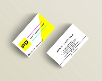 Print Your Design Glossy Business Cards