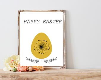 Happy easter greating card, Easret Wall Home Decor