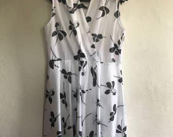 Vintage 50's Style Dress Size 12/14