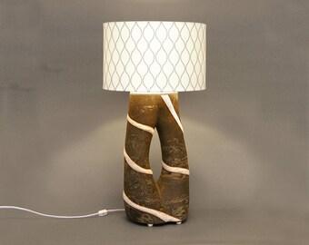 Table lamp, lamp, decoration, light, lighting, ceramic