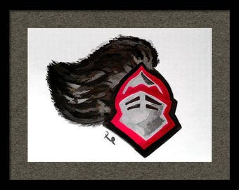 Rutgers Knight Limited Edition Print