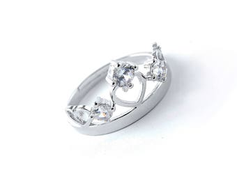 You are in My Heart Crown Ring
