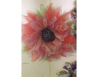 Flower petal Wreath