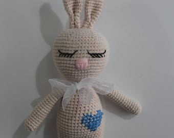 Amigurumi Sleepy Rabbit