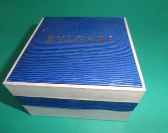 Bvlgari Italian, Watch & Jewelry Case, Only Box