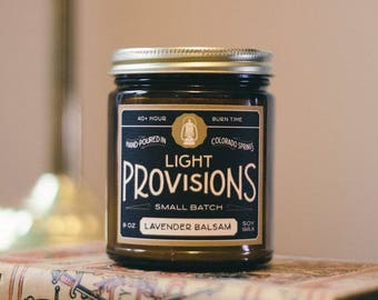 Lavender Balsam Candle - 9oz