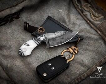 Handmade Neck or Key Ring Knife