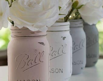 Rustic Mason Jar Decor