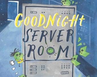 Preorder - Goodnight Server Room (Board Book)