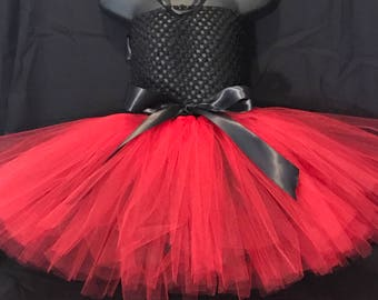 Black and Red Tutudress