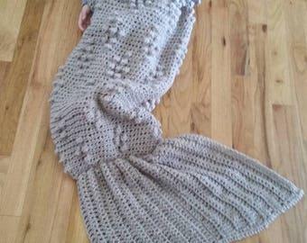 crochet mermaid tail blanket