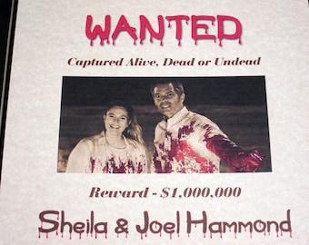 Sheila & Joel Hammond - Santa Clarita Diet - Wanted Poster