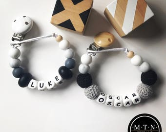 Personalised Silicone Dummy Chain