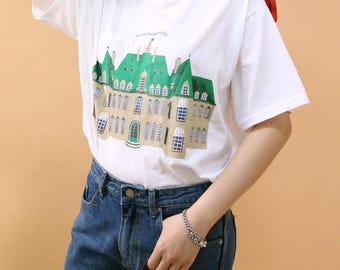 Grandbudapest hotel t-shirt cute / cotton