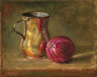 Onion and Pitcher