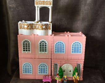 Vintage Polly Pocket Bluebird Dream Builders Deluxe Mansion