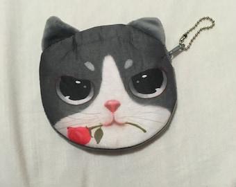 Kitty Cat Coin Purse