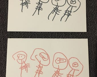Alien Guys - Blank Card