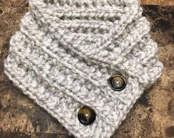 Knit Cowls- fit perfectly under a jacket!