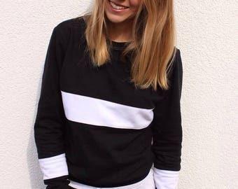 Black and white jumper / black of white sweater