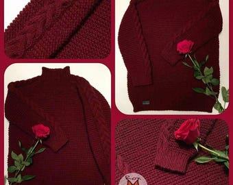 "Sweater ""Marsala life"""