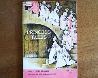 Princess Tales by Nora Kramer - Pictures by Barbara Cooney - Children's Book - Scholastic TX 1738