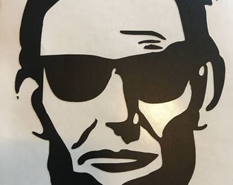 Abe in Shades Decal