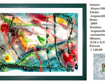 Art. Watercolor Strong Acquerellisticamente 2 2009