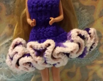 Handmade Barbie Dress