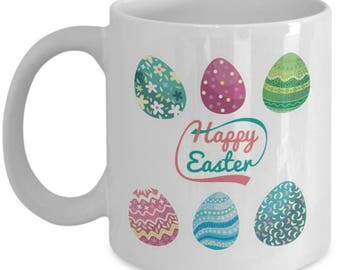 Happy Easter mug, Easter mug, Easter coffee mugs, easter gifts, easter gifts for women, easter gift ideas