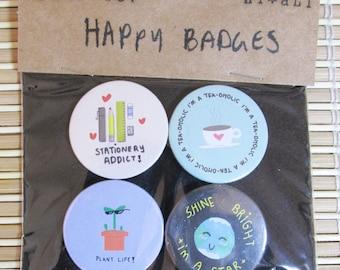 Happy Badge Pack