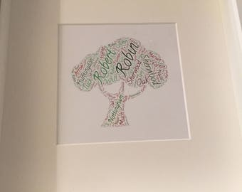Robin of Sherwood word art