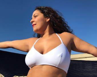 Top Bikini - bra tied back
