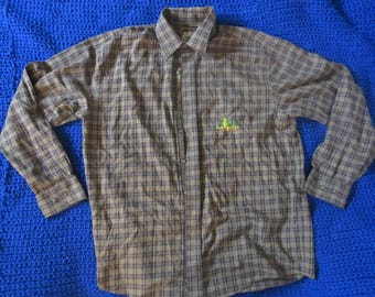 Cactus Embroidered Flannel