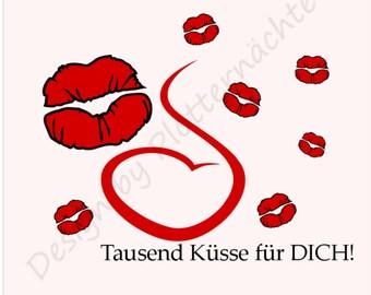 """Plotter file """"1000 kisses"""""""