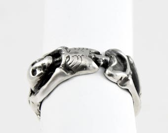 Silver Skeleton Ring
