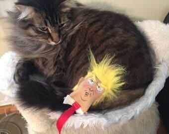 Trump Head Cat Toy