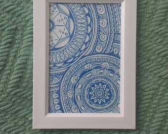 Mandala Zentangle Doodle
