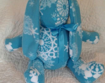 Plush stuffed bunny.  Irresistible!