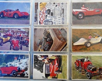Hot Rod Cards 1960's Drag Racing Specialty Street Strip Salt Flat Vehicles Cars