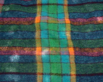 Vintage Mohair Throw Blanket Made in Scotlandby Montrose