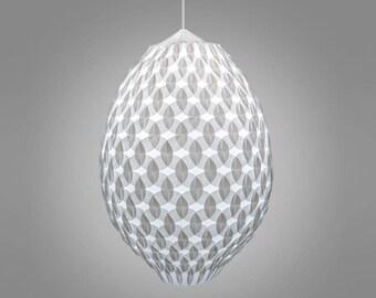 Ellipse Es4  Pendant Light - ADAMLAMP - with diffuse light