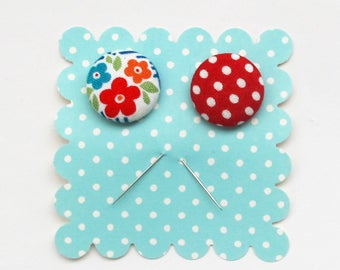 Decorative Pins for Gift Packaging | Two ornamental pins for attaching notes to gifts.